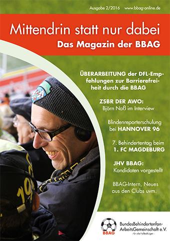 Bild des BBAG-Magazins 2/2016