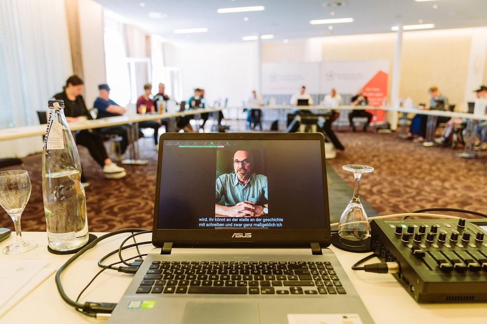 Vortrag Thomas Schneider / DFL per Videobotschaft